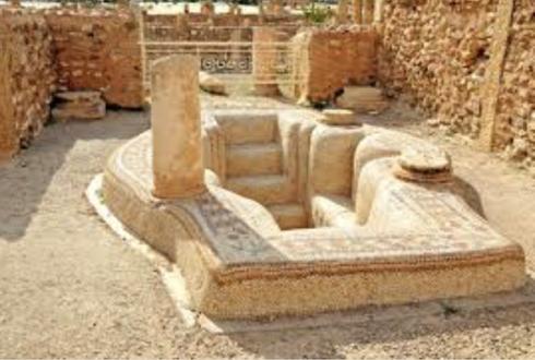 baptistery tunisia